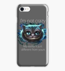 Cheshire Cat Quote iPhone Case/Skin