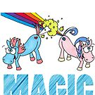 Unicorn Magic by JonsCrazyShirts