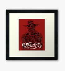 Blood Meridian Art Print Framed Print