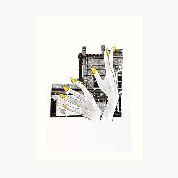 Hands Around Art Print