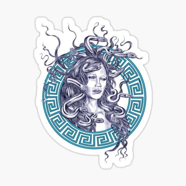 The Gorgon Sticker
