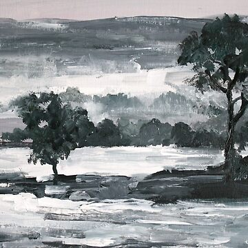 A Winter Landscape by chalk42002