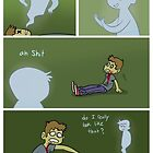 Zombie Ghost by JhallComics
