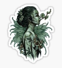Orchid - undead version Sticker