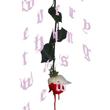 blood pink by thomreta