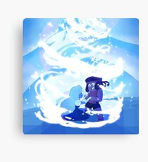 Here Comes a Thought - Steven Universe, Ruby & Sapphire Canvas Print