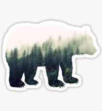 Bear in the Forest Sticker