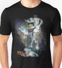 BDZ Tesla Milky Way Unisex T-Shirt