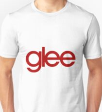 Glee Logo Red Unisex T-Shirt