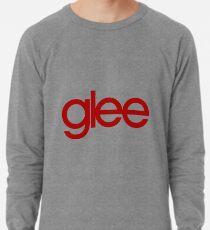 Glee Logo Red Lightweight Sweatshirt