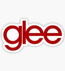 Glee Logo Red Sticker