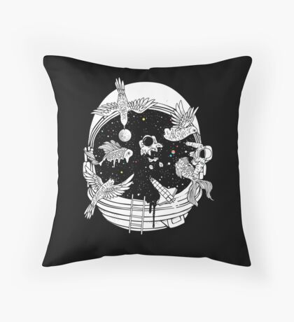 Depth of Discovery (A Case of Constant Curiosity) Throw Pillow
