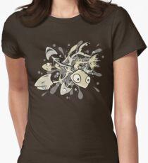 Poissons morts-vivants T-shirt col V femme