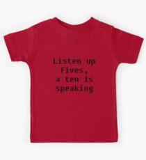 Listen Up Kids Tee