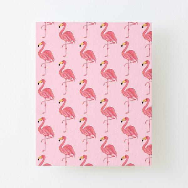 Pinky le flamand rose motif Impression montée sur toile