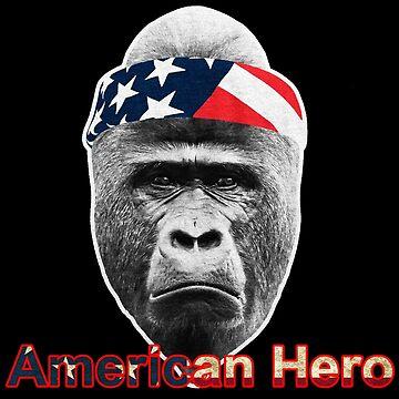 Natural Born Hero : Harambe by KathrynMSantos