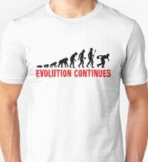 Ten Pin Bowling Evolution Continues T-Shirt