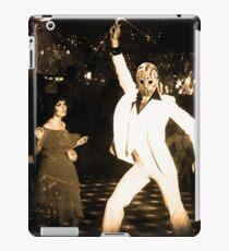 JASON VORHEES AS JOHN TRAVOLTA iPad Case/Skin