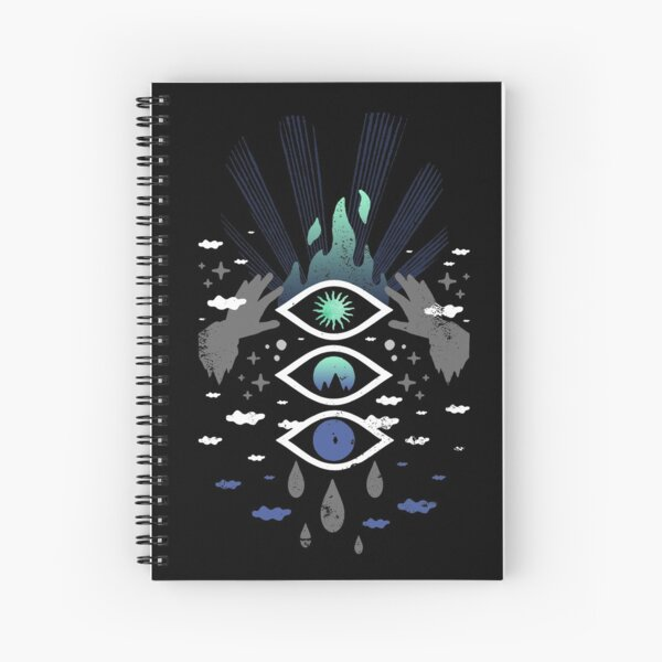 Magical Phases Spiral Notebook