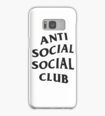 Anti Social Social Club Samsung Galaxy Case/Skin