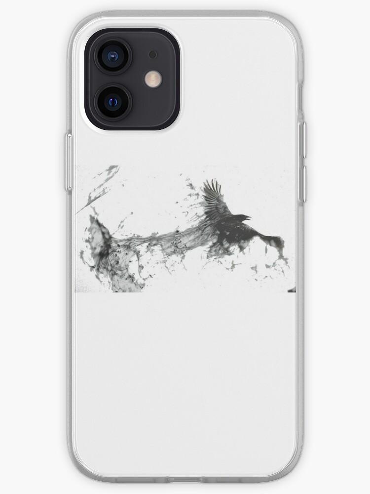 Corbeau de fumé | Coque iPhone