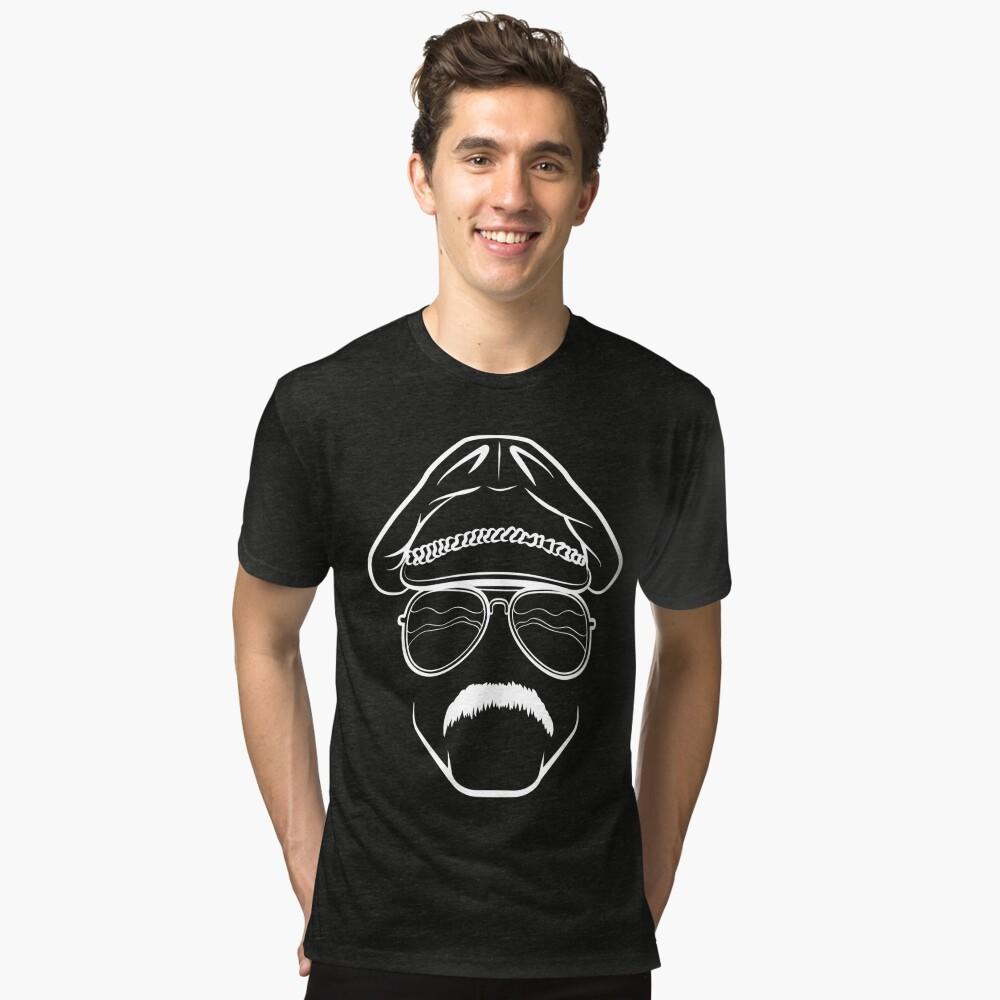 Big Zad (White) Tri-blend T-Shirt