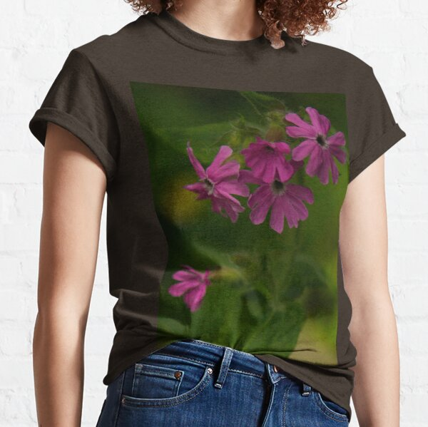 Pink Campion in Prehen Woods, Derry Classic T-Shirt