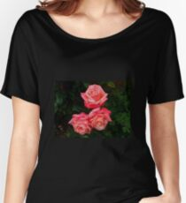 Blushing Rose Beauties Women's Relaxed Fit T-Shirt