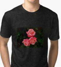 Blushing Rose Beauties Tri-blend T-Shirt