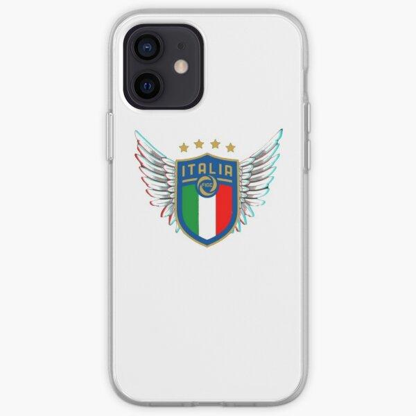 T-shirt Italy European Flag Football Soccer Mediterranean Rome Republic Italian Men - Italia National Team TA_00298 iPhone Soft Case