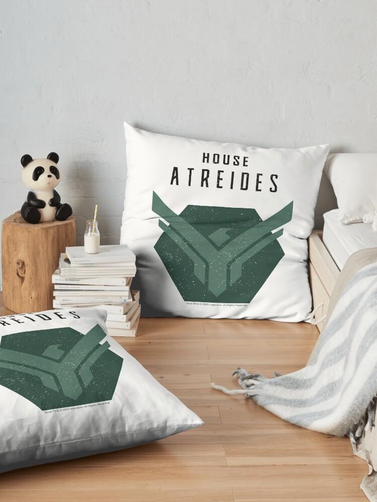 Alternate view of House Atreides, Atreides Logo Floor Pillow