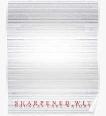 Sharpened Wit Poster