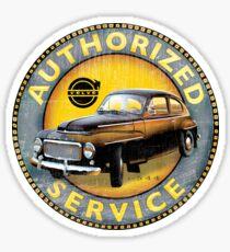 Volvo P544 Swedish Vintage Car Classic Sticker