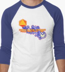 Yesterday's Tomorrow Today Men's Baseball ¾ T-Shirt