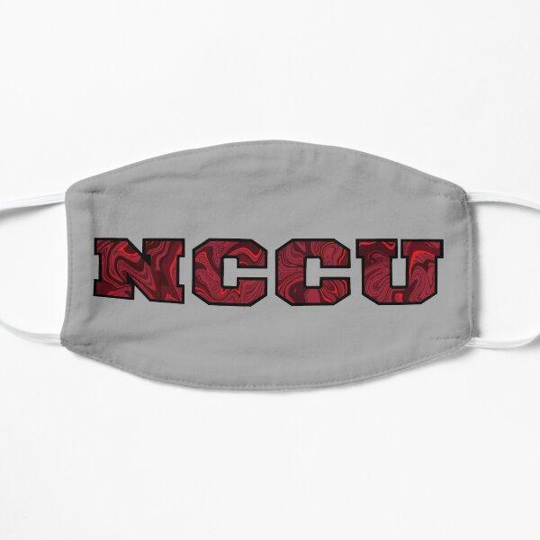 NCCU Swirls Flat Mask