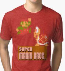 Super Mario Bros. Tri-blend T-Shirt
