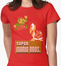 Super Mario Bros. Women's Fitted T-Shirt