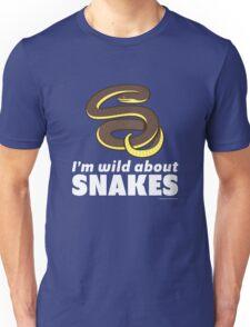 I'm Wild About Snakes Unisex T-Shirt