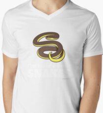 I'm Wild About Snakes Mens V-Neck T-Shirt
