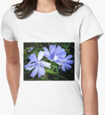 Pretty in Blue Women's Fitted T-Shirt
