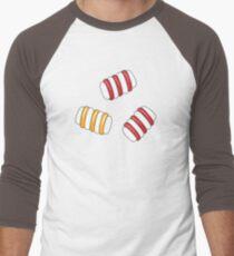 Happy Marshmallows Men's Baseball ¾ T-Shirt
