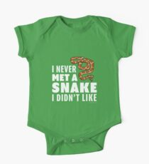 I Never Met A Snake I Didn't Like One Piece - Short Sleeve