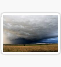 Thunderclouds over Texas Sticker
