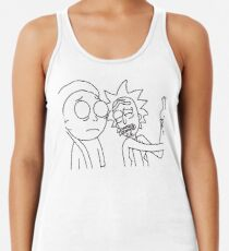 Rick and Morty Racerback Tank Top