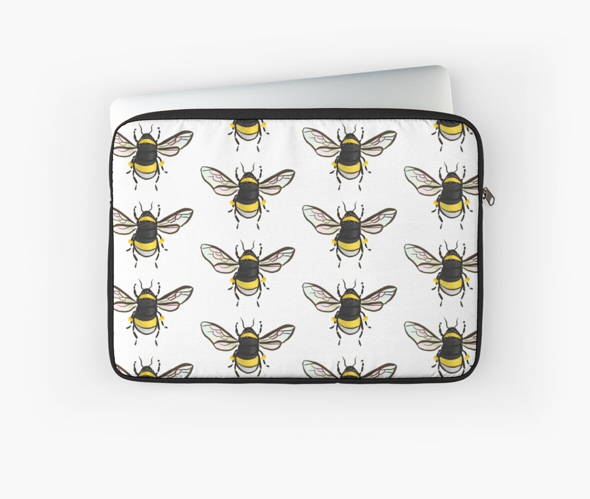 Bumble Bee Pattern by Wieskunde