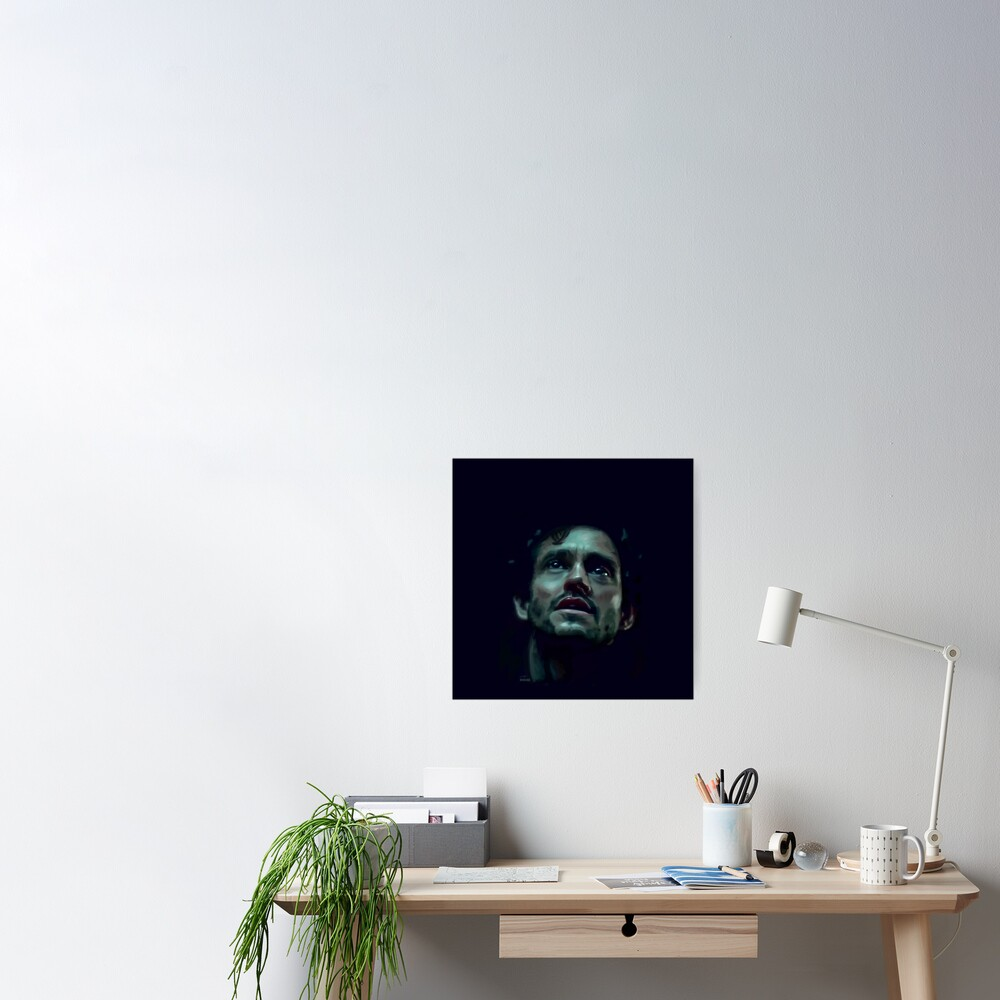 Will Graham Hannibal Digital Painting Poster