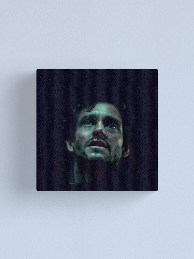 Alternate view of Will Graham Hannibal Digital Painting Canvas Print