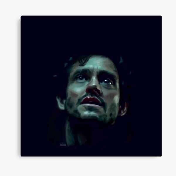 Will Graham Hannibal Digital Painting Canvas Print