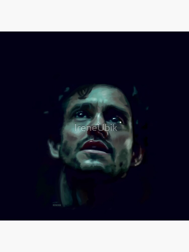 Will Graham Hannibal Digital Painting by ladykraken
