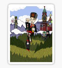 Across the Caucasus Sticker